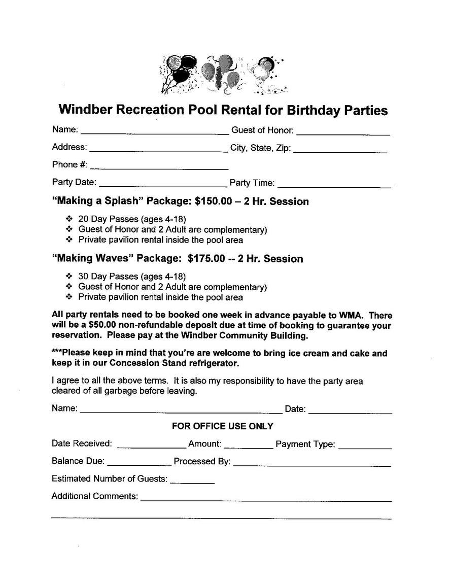 Windber Rec Park Windber Borough Municipal Authority Windber Pa